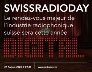 Inscriptions ouvertes pour le SwissRadioDay 2020, qui se déroulera le 27 août, en visioconférence.