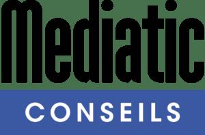 mediatic Logo black and white