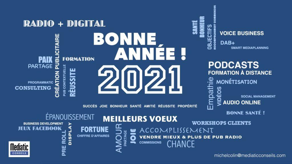 Voeux 2021 Mediatic