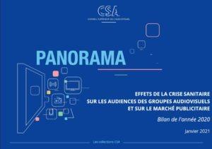 Baromètre des effets de la crise sanitaire sur le secteur audiovisuel : Impact sur les audiences, les usages et les ressources publicitaires - 2020